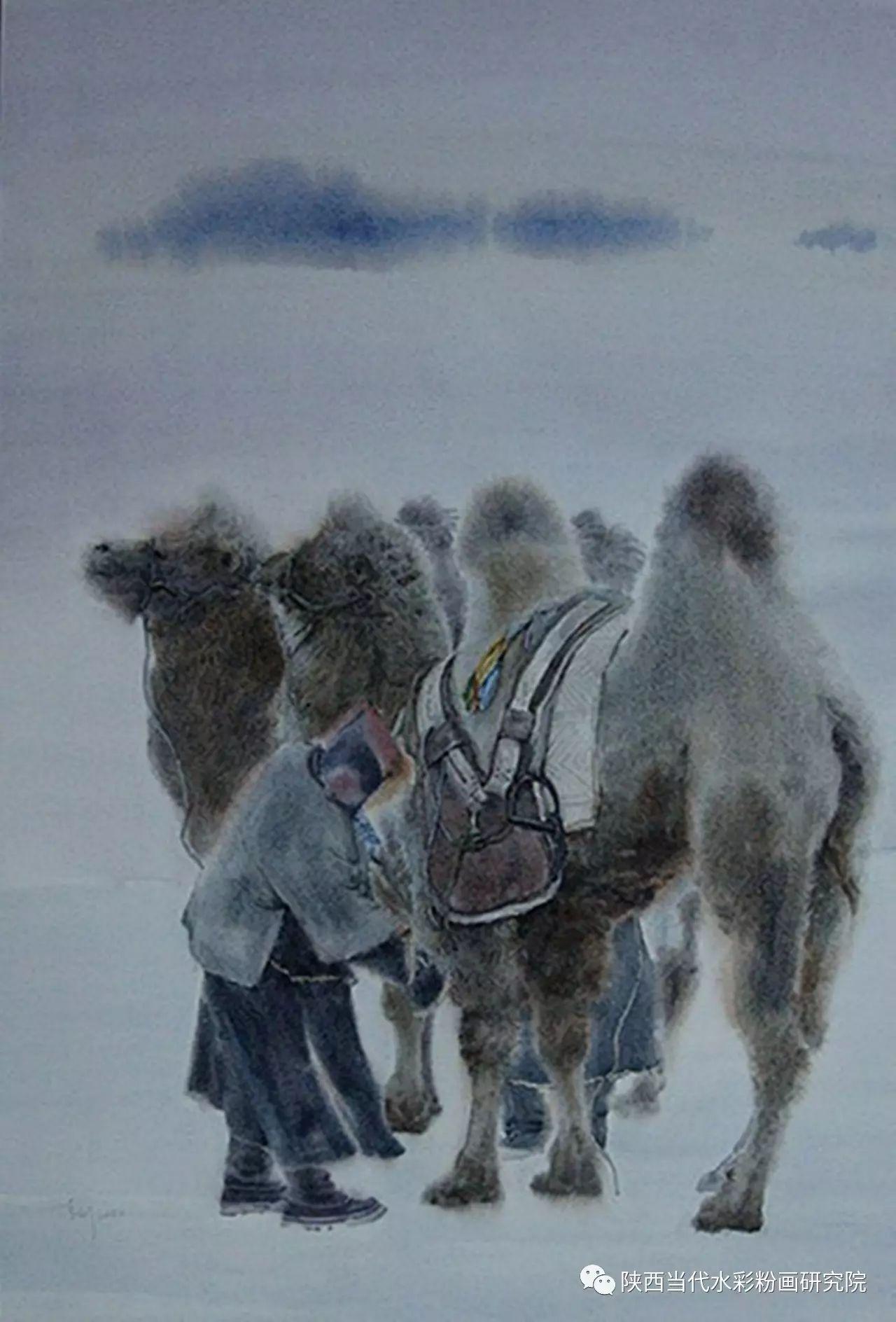 李刚(乌日根•达赉)作品   内蒙古艺术家水彩画作品专题微展第30集(总第1128期) 第2张