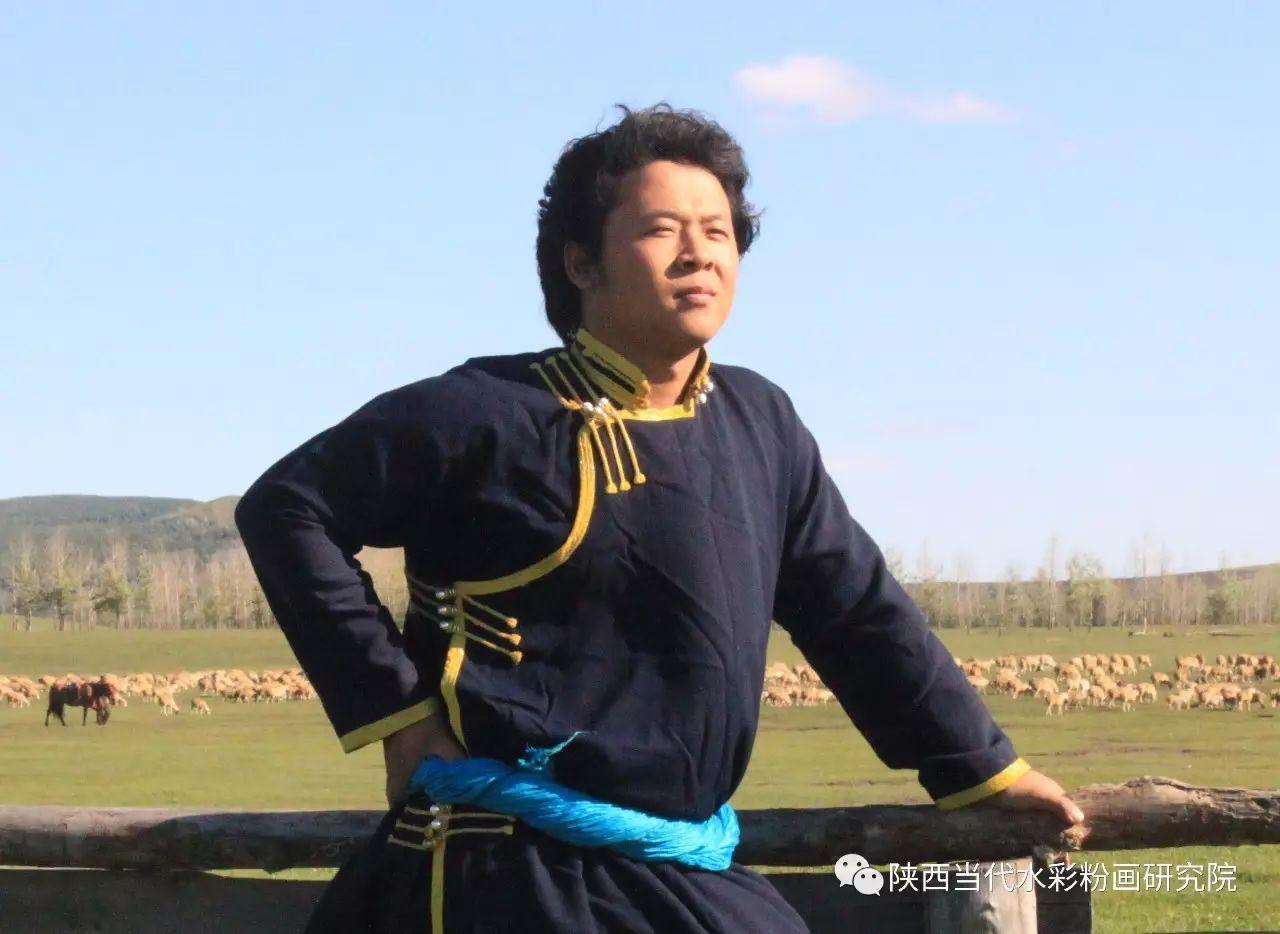 李刚(乌日根•达赉)作品   内蒙古艺术家水彩画作品专题微展第30集(总第1128期) 第1张