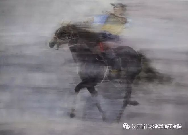李刚(乌日根•达赉)作品   内蒙古艺术家水彩画作品专题微展第30集(总第1128期) 第3张