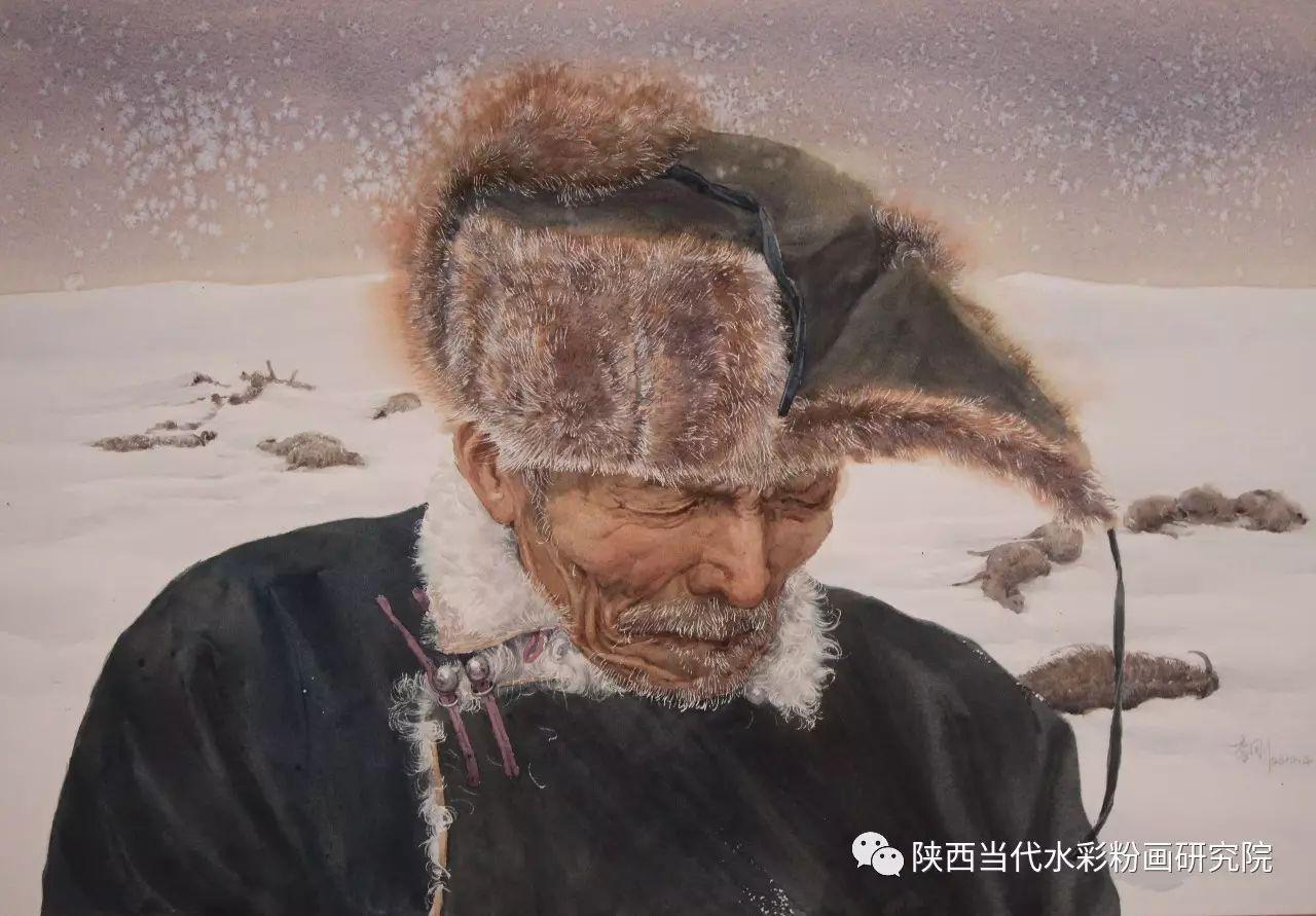 李刚(乌日根•达赉)作品   内蒙古艺术家水彩画作品专题微展第30集(总第1128期) 第4张