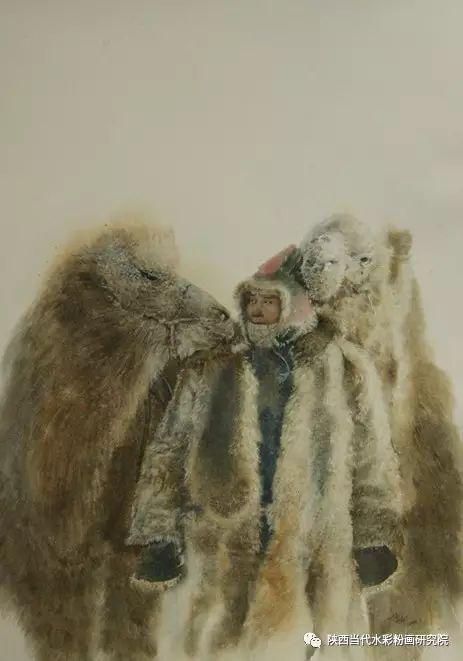 李刚(乌日根•达赉)作品   内蒙古艺术家水彩画作品专题微展第30集(总第1128期) 第6张