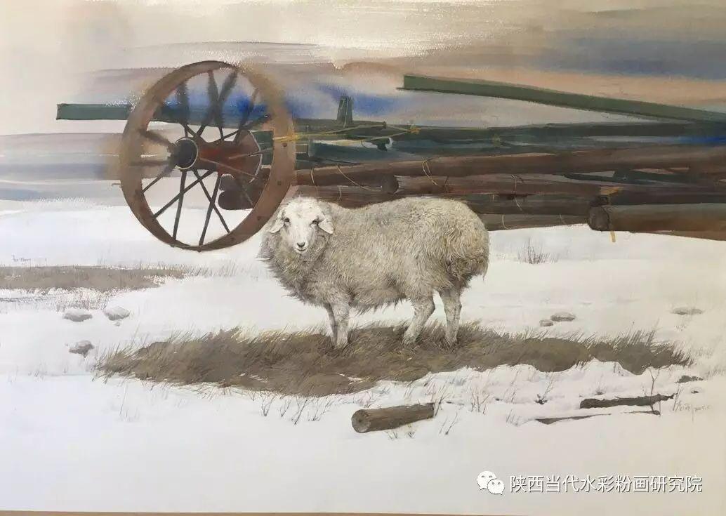 李刚(乌日根•达赉)作品   内蒙古艺术家水彩画作品专题微展第30集(总第1128期) 第9张