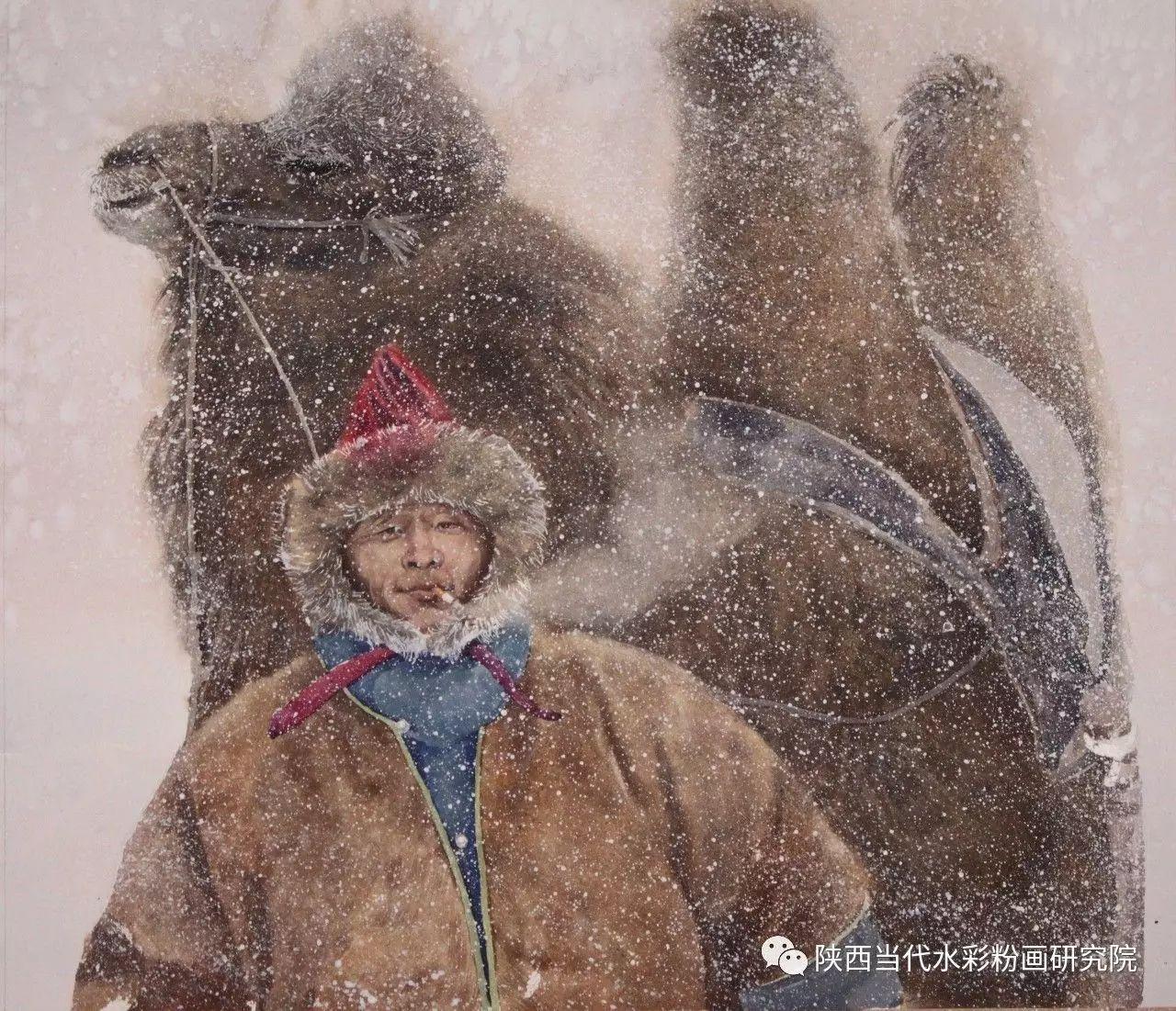 李刚(乌日根•达赉)作品   内蒙古艺术家水彩画作品专题微展第30集(总第1128期) 第8张