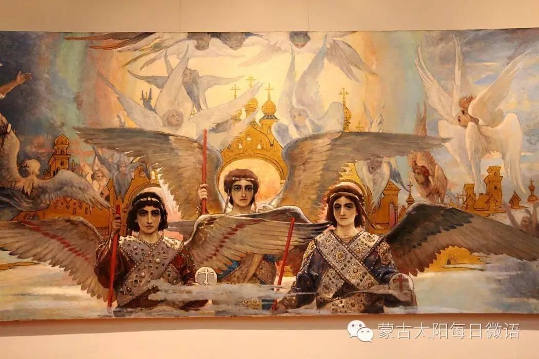 一个蒙古人眼中的欧洲 第32章 世界著名蒙古族画家费岳达尔•卡尔梅克 第22张 一个蒙古人眼中的欧洲 第32章 世界著名蒙古族画家费岳达尔•卡尔梅克 蒙古画廊