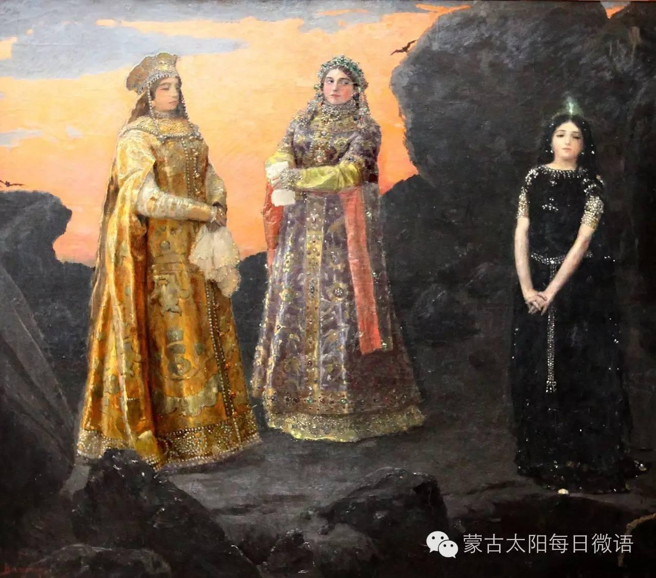 一个蒙古人眼中的欧洲 第32章 世界著名蒙古族画家费岳达尔•卡尔梅克 第21张 一个蒙古人眼中的欧洲 第32章 世界著名蒙古族画家费岳达尔•卡尔梅克 蒙古画廊