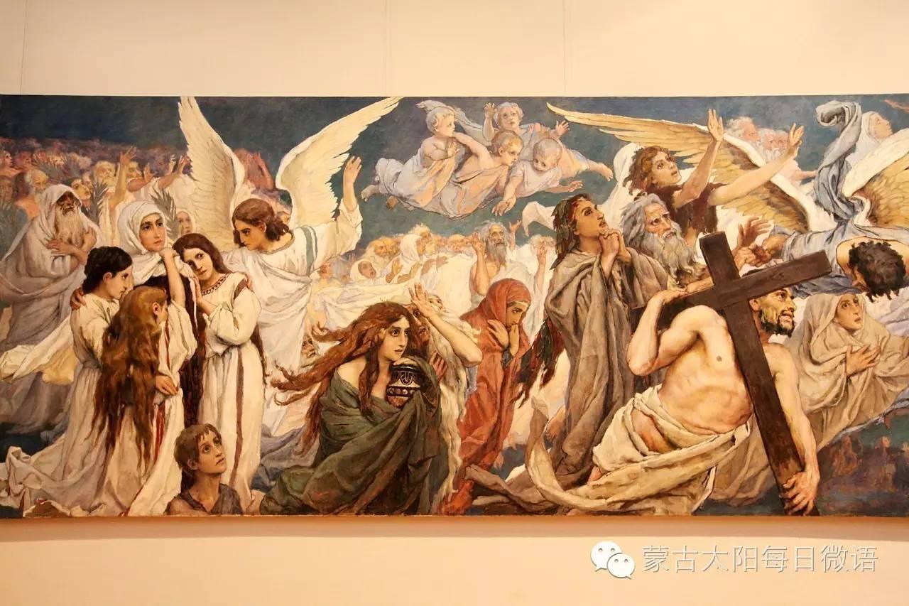 一个蒙古人眼中的欧洲 第32章 世界著名蒙古族画家费岳达尔•卡尔梅克 第25张 一个蒙古人眼中的欧洲 第32章 世界著名蒙古族画家费岳达尔•卡尔梅克 蒙古画廊