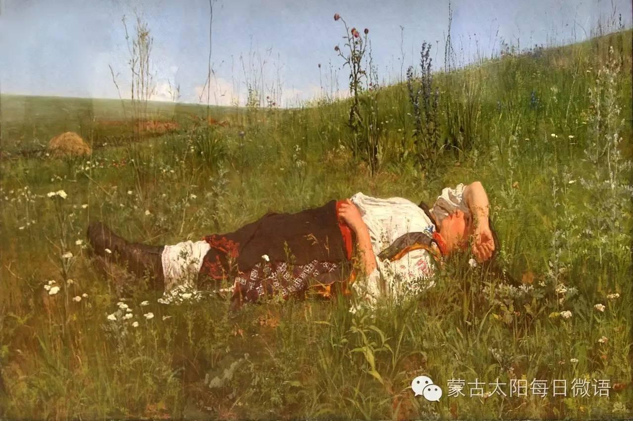 一个蒙古人眼中的欧洲 第32章 世界著名蒙古族画家费岳达尔•卡尔梅克 第27张 一个蒙古人眼中的欧洲 第32章 世界著名蒙古族画家费岳达尔•卡尔梅克 蒙古画廊