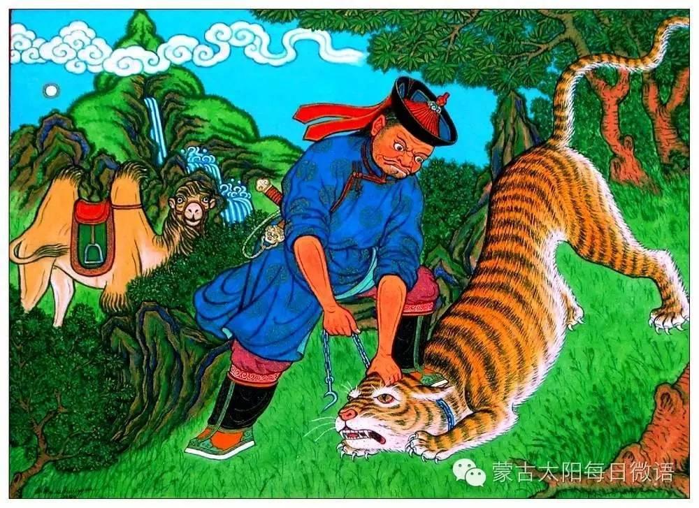 一个蒙古人眼中的欧洲 第32章 世界著名蒙古族画家费岳达尔•卡尔梅克 第40张 一个蒙古人眼中的欧洲 第32章 世界著名蒙古族画家费岳达尔•卡尔梅克 蒙古画廊