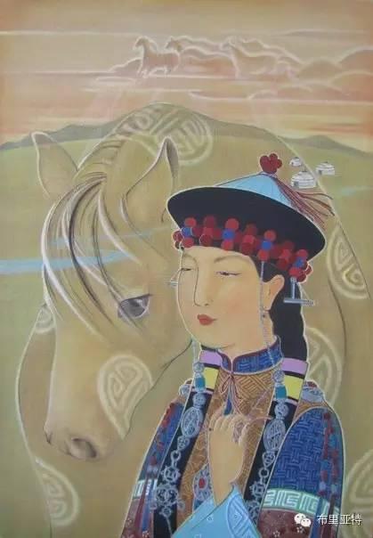 【ANU美图】布里亚特美女画家阿丽娜作品分享 第2张