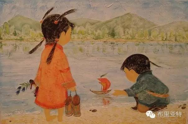 【ANU美图】布里亚特美女画家阿丽娜作品分享 第8张