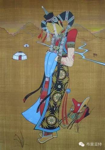 【ANU美图】布里亚特美女画家阿丽娜作品分享 第7张