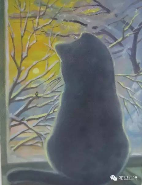 【ANU美图】布里亚特美女画家阿丽娜作品分享 第13张