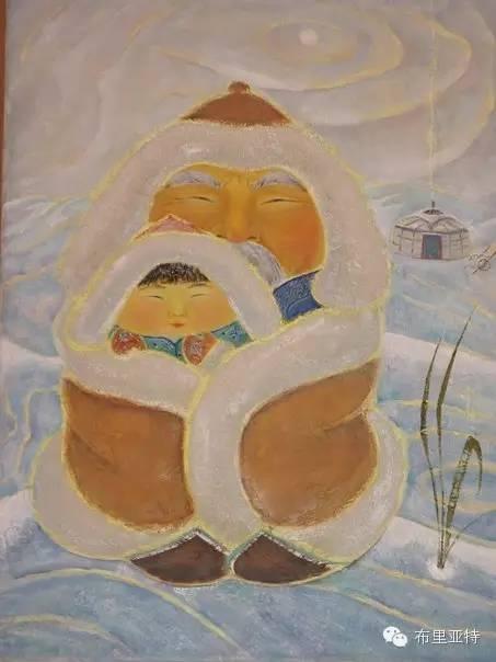【ANU美图】布里亚特美女画家阿丽娜作品分享 第12张