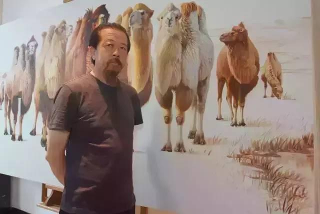 艺术家恩和:与骆驼的不解情缘 第1张