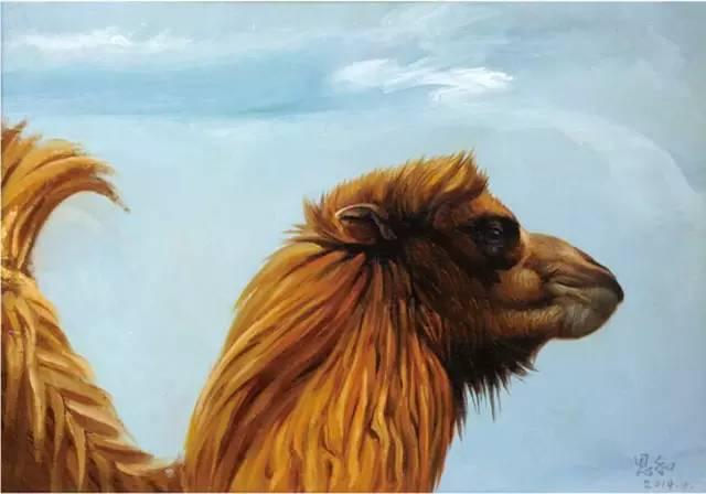 艺术家恩和:与骆驼的不解情缘 第15张