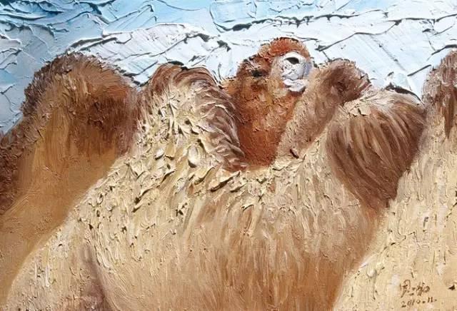 艺术家恩和:与骆驼的不解情缘 第14张