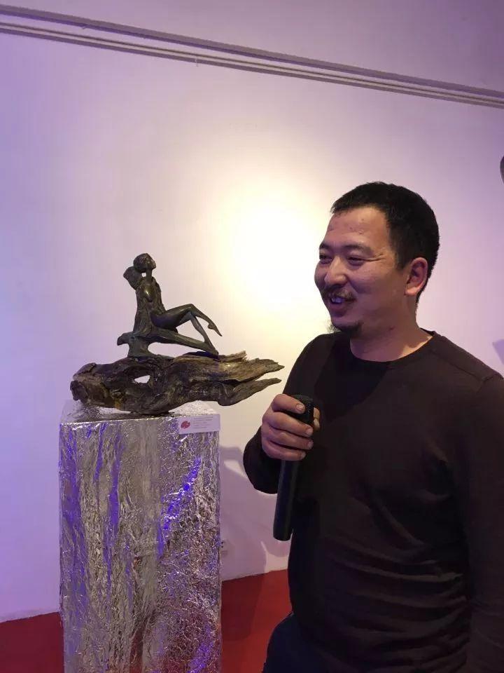 """蒙古青年艺术家们发起"""" MODERN KUNST 21""""展览 第5张"""