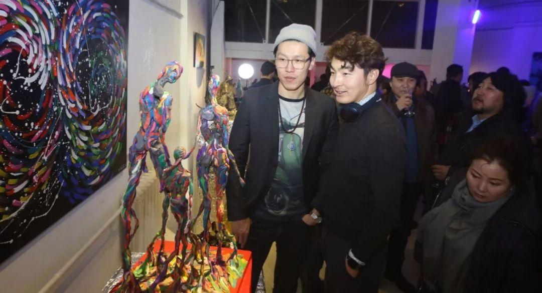"""蒙古青年艺术家们发起"""" MODERN KUNST 21""""展览 第6张"""