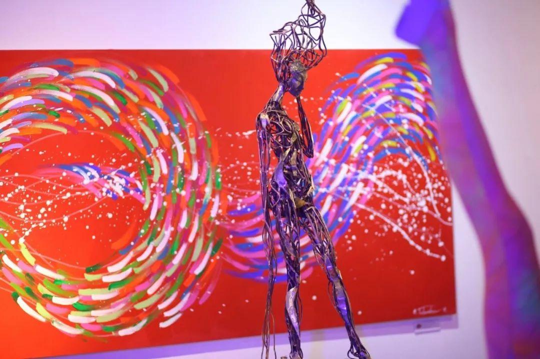 """蒙古青年艺术家们发起"""" MODERN KUNST 21""""展览 第7张"""