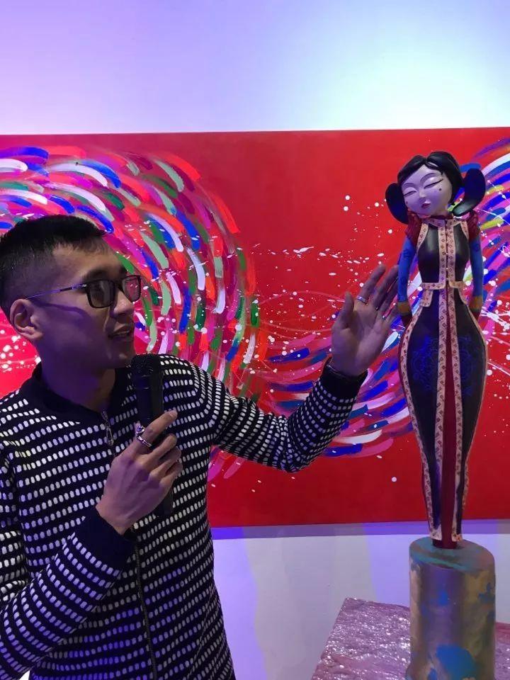 """蒙古青年艺术家们发起"""" MODERN KUNST 21""""展览 第9张"""
