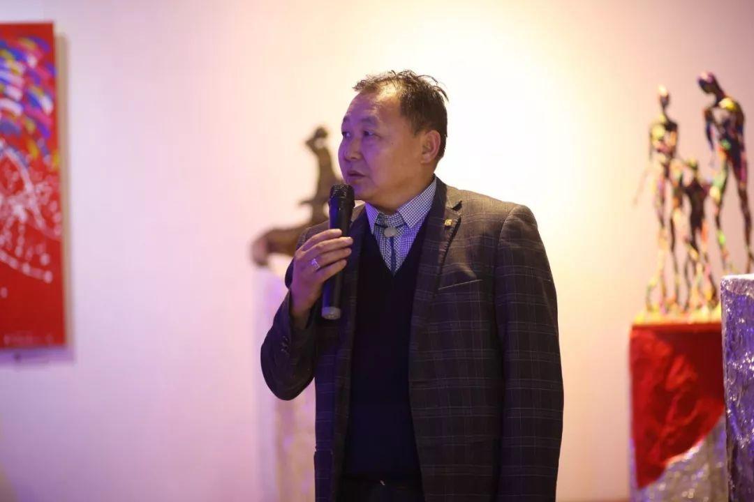 """蒙古青年艺术家们发起"""" MODERN KUNST 21""""展览 第15张"""