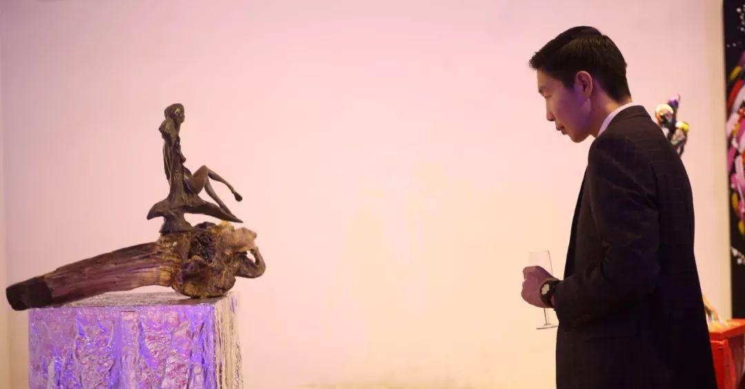 """蒙古青年艺术家们发起"""" MODERN KUNST 21""""展览 第18张"""