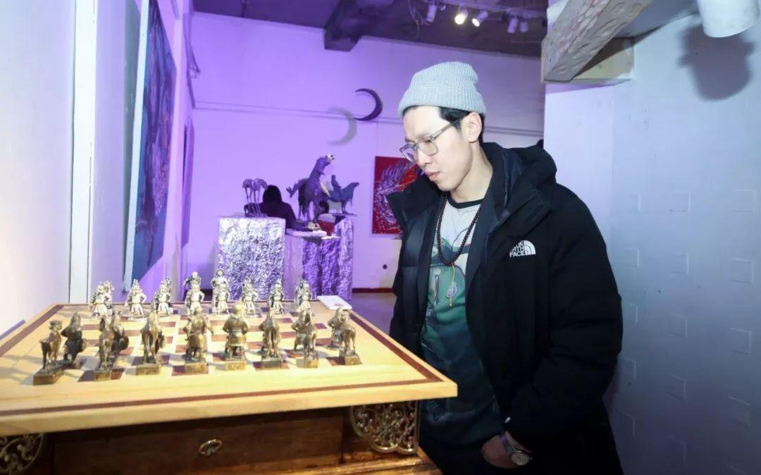 """蒙古青年艺术家们发起"""" MODERN KUNST 21""""展览 第27张"""