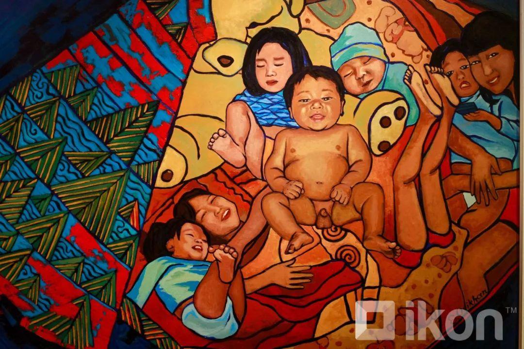 """蒙古国天才艺术家们的""""Mongol goo""""三八妇女节特别展览 第5张 蒙古国天才艺术家们的""""Mongol goo""""三八妇女节特别展览 蒙古画廊"""