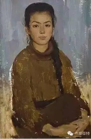 卡尔梅克画家莫日根油画欣赏 第3张