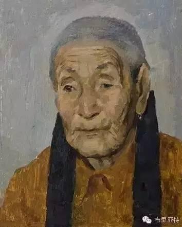 卡尔梅克画家莫日根油画欣赏 第2张