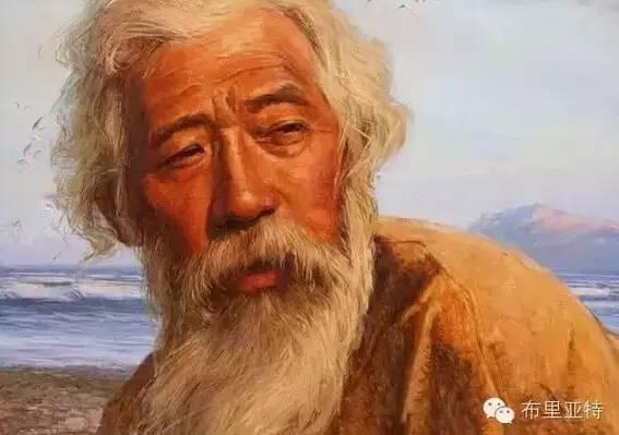 卡尔梅克画家莫日根油画欣赏 第4张