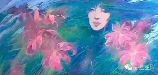 卡尔梅克画家莫日根油画欣赏 第8张