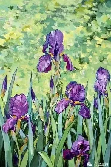 卡尔梅克画家莫日根油画欣赏 第13张