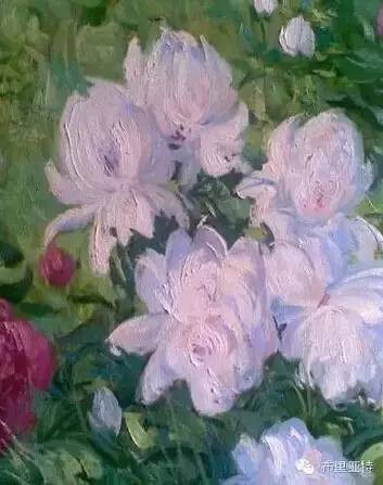卡尔梅克画家莫日根油画欣赏 第17张