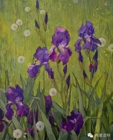 卡尔梅克画家莫日根油画欣赏 第15张