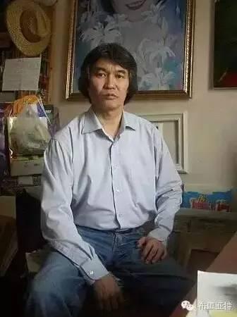 卡尔梅克画家莫日根油画欣赏 第18张