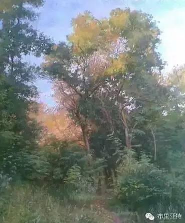 卡尔梅克画家莫日根油画欣赏 第16张