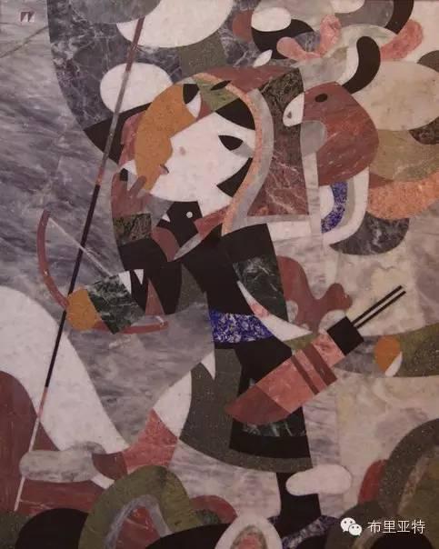 刚在蒙古办展览的布里亚特艺术家尤里作品欣赏 第12张