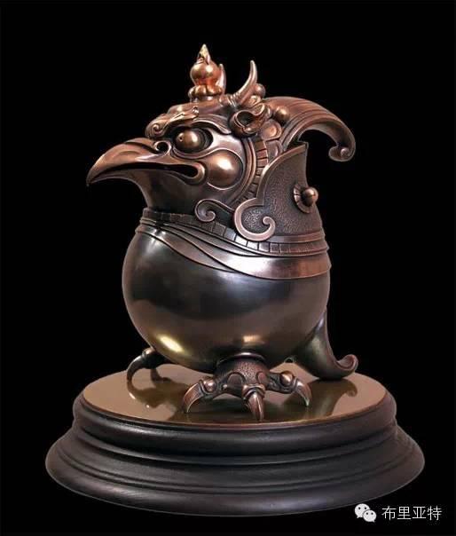 艺术家布德扎布的雕塑作品欣赏 第5张 艺术家布德扎布的雕塑作品欣赏 蒙古画廊