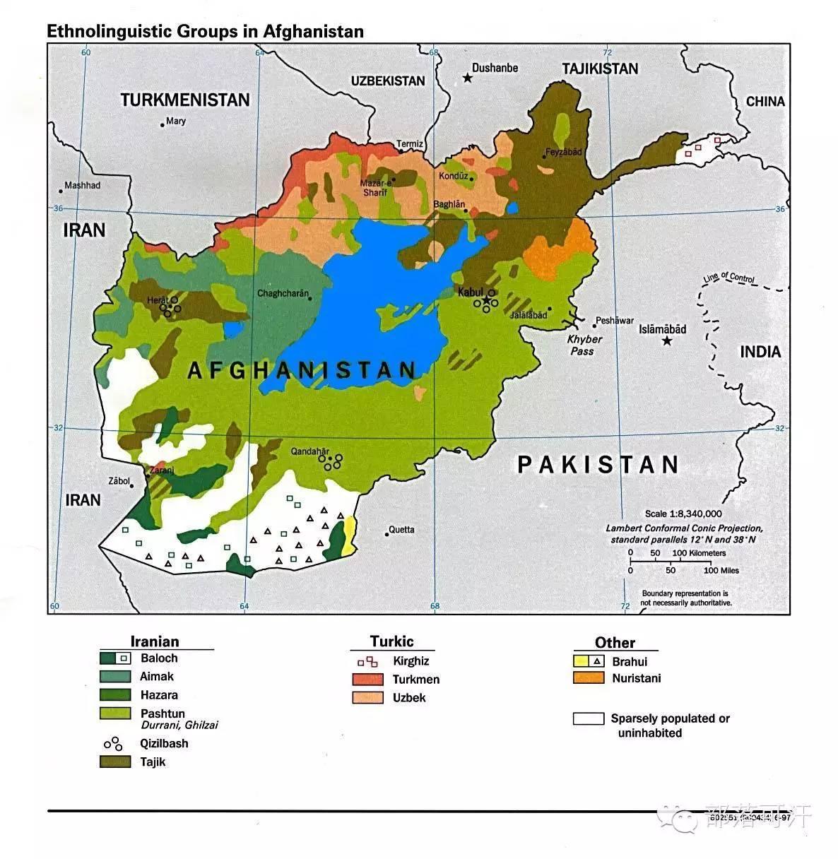 阿富汗的蒙古人后裔哈扎拉人 第1张 阿富汗的蒙古人后裔哈扎拉人 蒙古文化