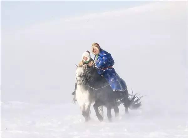 【阿努美图】摄影师宝音:内蒙古大草原冬季采风作品欣赏 第6张