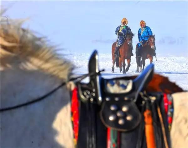 【阿努美图】摄影师宝音:内蒙古大草原冬季采风作品欣赏 第4张