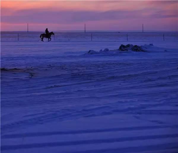 【阿努美图】摄影师宝音:内蒙古大草原冬季采风作品欣赏 第15张