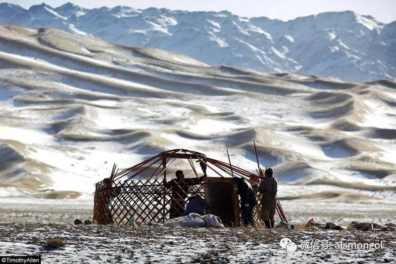 【摄影】蒙古冬季美景 第9张