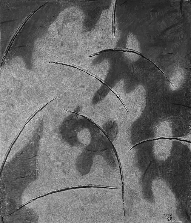 """原创:胡日查油画作品中的""""静谧""""意蕴。 第2张"""