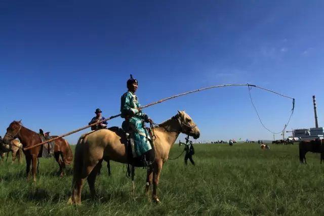 蒙古族狩猎工具——套马杆 第3张 蒙古族狩猎工具——套马杆 蒙古文化