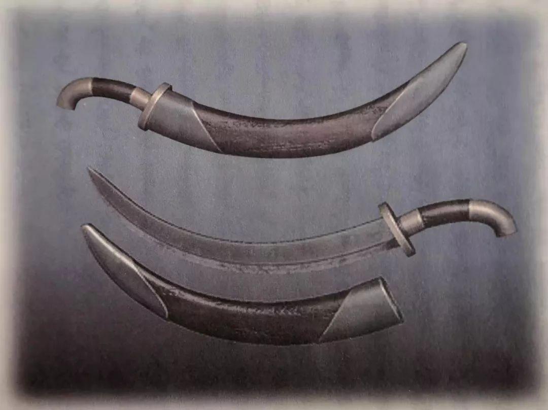 让文物说话|战争及狩猎用品①--蒙古弯刀 第1张