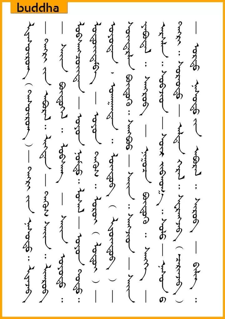 ◉ ᠲᠥᠪᠡᠳ ᠨᠡᠷᠡᠶᠢᠨ ᠮᠣᠩᠭᠣᠯ ᠣᠷᠴᠢᠭᠤᠯᠭᠠ  蒙古人常用的藏语名字的蒙古语含义 第7张