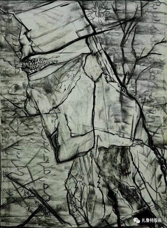前德门版画作品欣赏 第3张 前德门版画作品欣赏 蒙古画廊