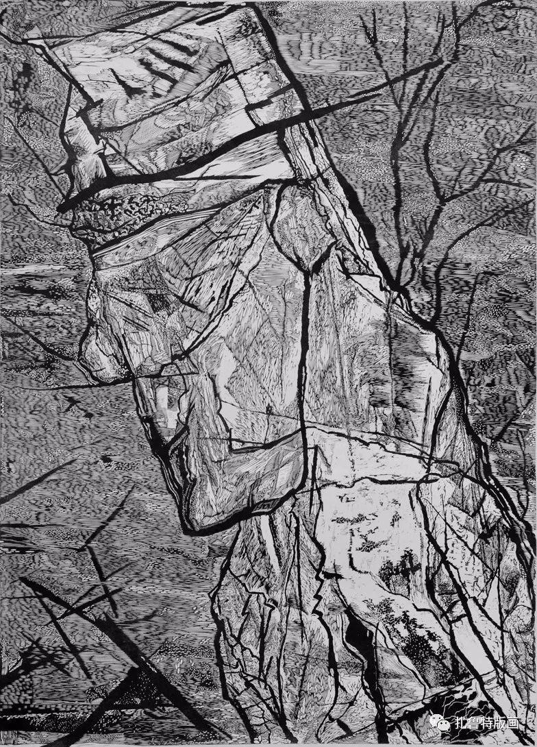 前德门版画作品欣赏 第4张 前德门版画作品欣赏 蒙古画廊